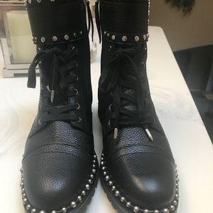 "Sam Edelman Black ""Jennifer"" Moto Boots, 9"